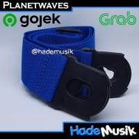 Strap Planet Lock Daddario Planet Waves Gitar dan Bass Warna Biru