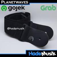 Strap Daddario Planet Waves PWS 100 PWS-100 Gitar Warna Hitam