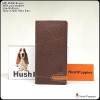 Dompet Hushpuppies 450SK Brown Bifold super dompet pria dompet kulit