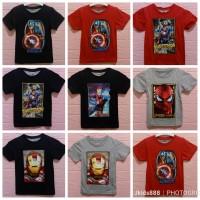 Baju Nyala Anak SUPERHERO