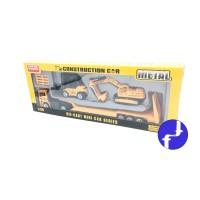 Mainan Mobil Metal Construction Car 4 pcs Die Cast Super Power F12