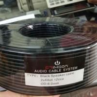 Kabel Audio Speaker Crimson 2x44 serabut tipis 1 roll isi 100meter