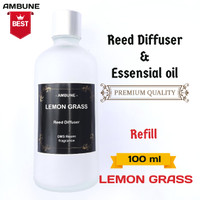 LEMON GRASS reffil Diffuser & Essensial oil. 100 ml