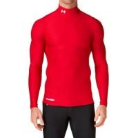 UAA leher tinggi manset baselayer Heat gear hitam merah biru navy abu