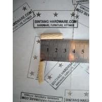 Dowel Kayu Bulat Ulir Diameter 6mm Panjang 25mm Paku Pasak Kayu /pcs
