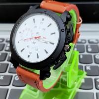 jam tangan pria kulit & wanita swis army kulit tanggal aktif jam kulit