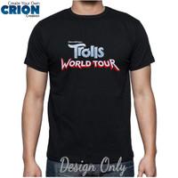Kaos Trolls World Tour - Trolls World Tour Logo - By Crion