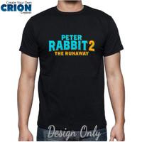 Kaos Peter Rabbit 2 The Runaway - Peter Rabbit 2 Logo - By Crion
