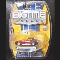 Jada Toys 2008 Diecast Big Time Muscle 68 Corvette Roadster