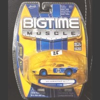 Jada Toys 2008 Diecast Big Time Muscle 69 Corvette ZL 1