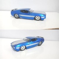 Jada Toys Diecast Ford Mustang 1973 Mach 1 Muscle