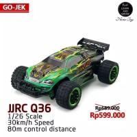 Premium JJRC Q36 Mobil RC Off-road Rock Crawler Skala 1:26 Herocar