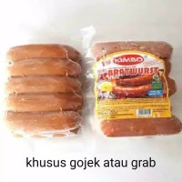 sosis kimbo keju bratwurst 10s khusus gojek/grab