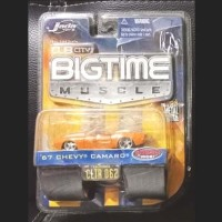 Jada Toys Diecast Big Time Muscle Chevy Camaro 1967