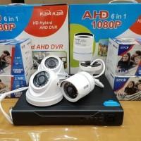 KAMERA CCTV PAKET SPC 2MP 1080P 4CH KOMPLIT