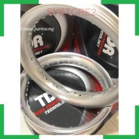 SYS2 VELG TDR U SHAPE 300350 RING 17 WARNA SILVER TDR ORIGINAL SET