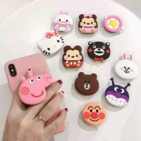 POP SOCKET LAMPU LED PPS 82 POP SOCKET KARAKTER RING STAND GRIP HP