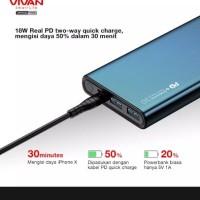 powerbank original vivan 10000 mah