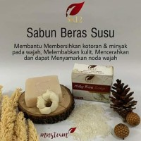 milk rice soap