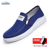 Leedoo Sepatu Pria Sepatu Slip on Pria Sepatu Sandal Pria MC301