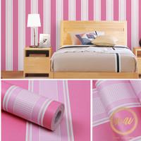 Homewallpaper - Wallpaper Sticker Dinding Motif Salur - 45cm x 10m