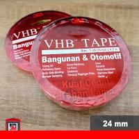 3M VHB Isolasi Double Tape 24 mm ORIGINAL (Bangunan & Otomotif) VHB24