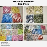 HOT SALE ORIGAMI BINTANG (REG PACK) - Motif Batik TERJAMIN