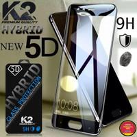[TEMPERED GLASS 5D] warna K2 Premium Quality XIAOMI REDMI 6A, NOTE 6