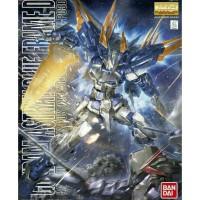 Bandai Original MG 1/100 Gundam Astray Blue Frame D + action base