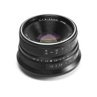 Lensa Wide 7Artisans 25mm F1.8 For Fujifilm X Black - 7Artisan Fuji