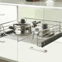 Rak Panci Piring Mangkok Tarik Ok 007 G For Kitchen Set Cabinet 40 Cm