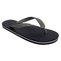 Sandal Pria Oxford - Charcoal Blue Panama M10