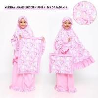 Mukena Anak Unicorn Pink ( Tas Sejadah ) GRATIS ONGKIR