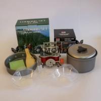 Paket cooking set sy 200 plus kompor lipat kotak merk kovar original
