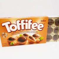 Storck Toffifee Chocolate Caramel Cup 15pcs / Cokelat Karamel Import