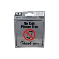 Hy-Ko Stiker Anodized Larangan Ponsel?â? - Silver