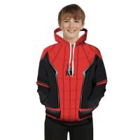 The Avengers 4 Anak Laki-laki Jaket Spiderman Cosplay Gaya Tipis
