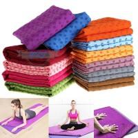 TG Y1zj 1Pc Matras Yoga Olahraga Anti Slip Menyerap Keringat untuk Cam