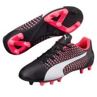 Sepatu bola puma original Adreno 3 FG black pink original new