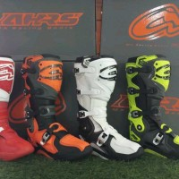 sepatu balap motor cross ahrs new not acerbis oneal fox alpinestar s