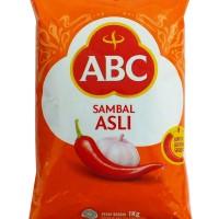 (50669) SAUCE ABC 1KG SAMBAL PILLOW PACK ASLI