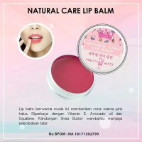 pretty white lip balm / pemerah bibir bpom original