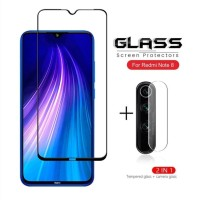PAKET Tempered Glass Kamera + TG Anti Gores XIAOMI REDMI NOTE 8