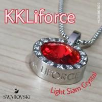 KKLiforce Light Siam Crystal