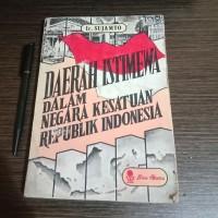 Daerah Istimewa Dalam Negara Kesatuan Republik Indonesia