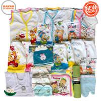 Paket Hemat Perlengkapan Baju Bayi Baru Lahir (New Born) PAHE TOPI 02