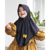 Jilbab Hijab Anak Emoji Kerut - Kerudung Anak Perempuan