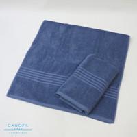 Handuk Mandi / Bathtowel Canopy TG3L - Navy Blue (68x142cm) 100%cotton - Biru