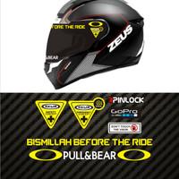 Value Set Paket Stiker Helm Zeus