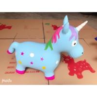 Jumping Animal Music - Mainan Tunggang Kuda Kudaan Karet with